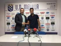 Nando renueva una temporada con la UD Melilla