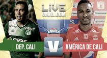 Resumen Deportivo Cali 2-1 América en Liga Águila 2017