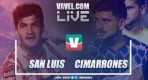 Resumen y goles Atlético de San Luis 0-0 Cimarrones Sonora en Ida Cuartos de Final Liguilla 2018