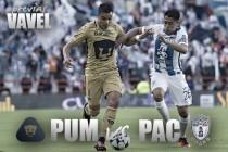 Previa Pumas - Pachuca: listos para dar el zarpazo