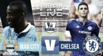 Partido Manchester City vs Chelsea en vivo y en directo online en Premier League 2016