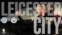 Resultado Leicester City vs Manchester City en vivo online en Premier League 2016