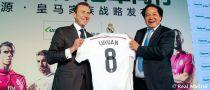 Butragueño rubrica el primer acuerdo de patrocinio del Madrid en China
