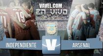 Independiente vs Arsenal en vivo online (4-0)