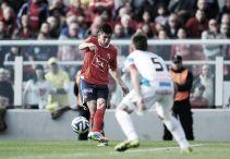 """Lucas Villalba: """"Voy a jugar de interior izquierdo como lo venía haciendo Mancuello"""""""