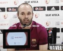 """Iniesta: """"Ganar el doblete tiene un gran valor"""""""