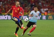 Andrés Iniesta, elegido MVP de la primera fase de la Eurocopa