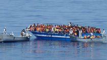 Al menos 25 muertos en un naufragio en las costas de Libia