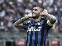 Icardi plays down transfer speculation as the striker reveals he's happy at Inter