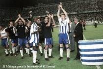 La historia del único título del Málaga: Intertoto 2002