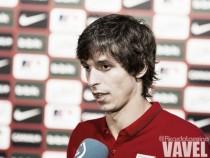 """Iturraspe: """"Quiero pelear por el puesto y ayudar al equipo"""""""