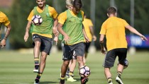 La Juve torna al lavoro