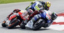 MotoGP Brno. Lorenzo al comando, Rossi e Marquez nemici alleati