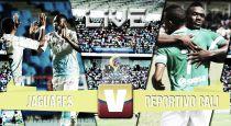 Jaguares vs Deportivo Cali, Liga Águila 2015 en vivo y en directo online (0-0)