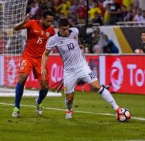 Copa América en blanco: se acabó la aventura de James entre rayos