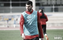 Javi Álamo ya ejerce como jugador de la UD Almería