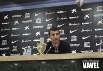 "Javi Gracia: ""La salida de jugadores importantes nos ha hecho pasar tristeza"""