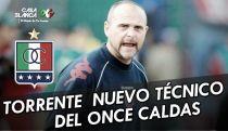 Javier Torrente, nuevo entrenador de Once Caldas