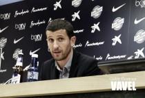 """Javi Gracia: """"Ahora todos hablamos de que Juanpi juega muy bien"""""""