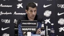 """Javi Gracia: """"El Betis fue capaz de ganarnos aquí y ahora es un equipo más sólido"""""""
