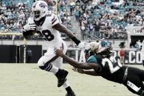 Los Bills sufren pero ganan a los Jaguars en un partido igualado