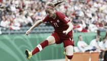 Janine Beckie strike gives Canada the edge over Sweden