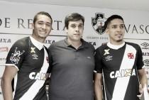 """Novos reforços do Vasco são apresentados e Jean avisa: """"Vim para brigar por Libertadores"""""""