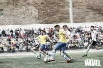 Las Palmas Atlético se aferra a los goles de Manu Dimas y Jefté