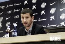 """Javi Gracia: """"Es justo reconocer el esfuerzo de los jugadores en una temporada que empezó muy complicada"""""""