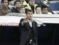 """Javi Gracia: """"El equipo está dolido porque ha competido bien"""""""
