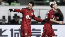 Javier Hernandez wins 'Bundesliga Player of the Month' award for January