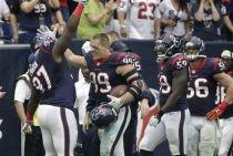 J.J. Watt fue el protagonista en la victoria de los Texans frente a los Bills