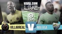 Resultado final: Villarreal 1-0 Málaga. Victoria sufrida del Villarreal.