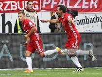 Eintracht Frankfurt 2-2 Bayern Munich: 10-man Frankfurt fight-back to earn a draw