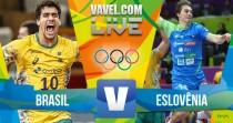 Brasil x Eslovênia no handebol masculino dos Jogos Olímpicos Rio 2016