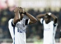 Un Inter sin alma pierde otra vez y piensa en cambiar de entrenador