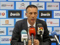 """Joaquín Ruiz: """"Nuestros sistemas defensivos no han funcionado como esperábamos"""""""