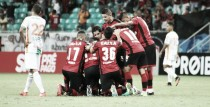 """David comemora gol no triunfo do Vitória: """"Estou feliz por ajudar"""""""