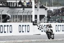 Vuelta al 2015. GP de Gran Bretaña: Zarco suma y sigue