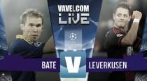 Resultado BATE Borisov vs Bayer Leverkusen en en Champions League 2015: congelados hasta el alma (1-1)
