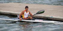 El piragüista asturiano Jonas García finaliza segundo en la final B del Mundial