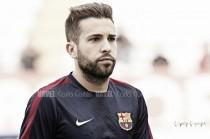"""Jordi Alba: """"Messi siempre intenta cosas nuevas y ha salido a la perfección"""""""