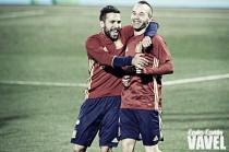 """Jordi Alba: """"Tener la confianza de Julen al cien por cien da mucha fuerza"""""""