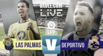 Resultado del UD Las Palmas - RC Deportivo de la Coruña, El depor asalta el Gran canaria (0-2)