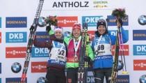 Biathlon, Anterselva - Individuale femminile: si impone Dahlmeier, splendida terza Alexia Runggaldier