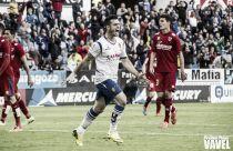 Jaime Romero, el mejor frente al Numancia según la afición