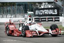 Juan Pablo Montoya partirá tercero en Detroit