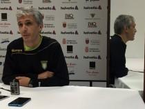 """Entrevista. Juanto Apezetxea: """"Si hacemos un partido a nuestro mejor nivel, tenemos opciones ante el Naturhouse"""""""
