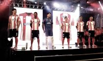 La nueva elástica 'rojiblanca' del Junior de Barranquilla