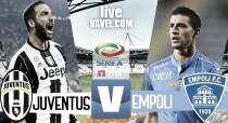 Juventus - Empoli diretta, LIVE Serie A 2016/17 (20.45)